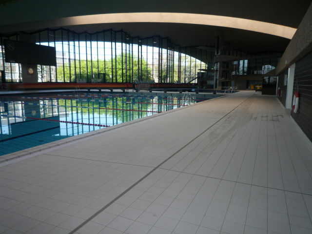 Swimming pool of the Coque