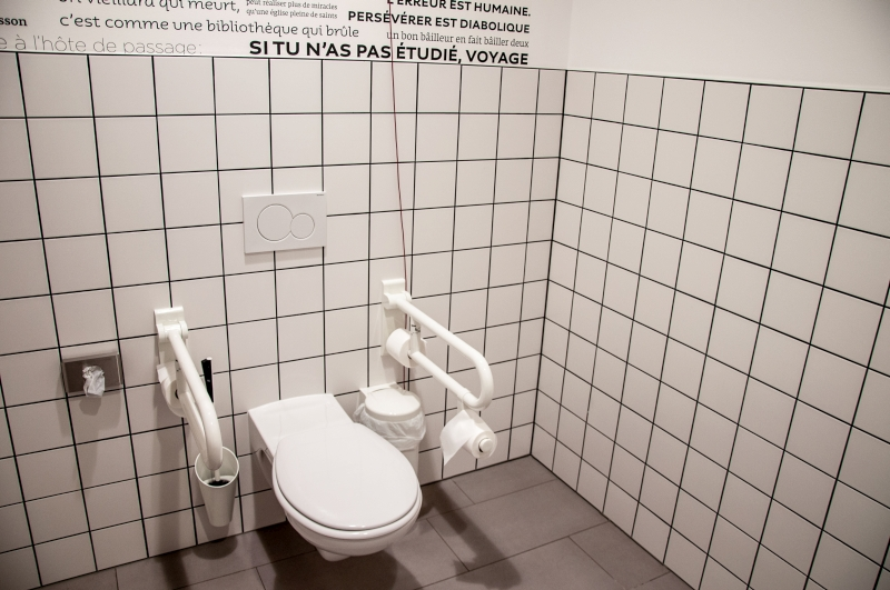 WC for disabled people