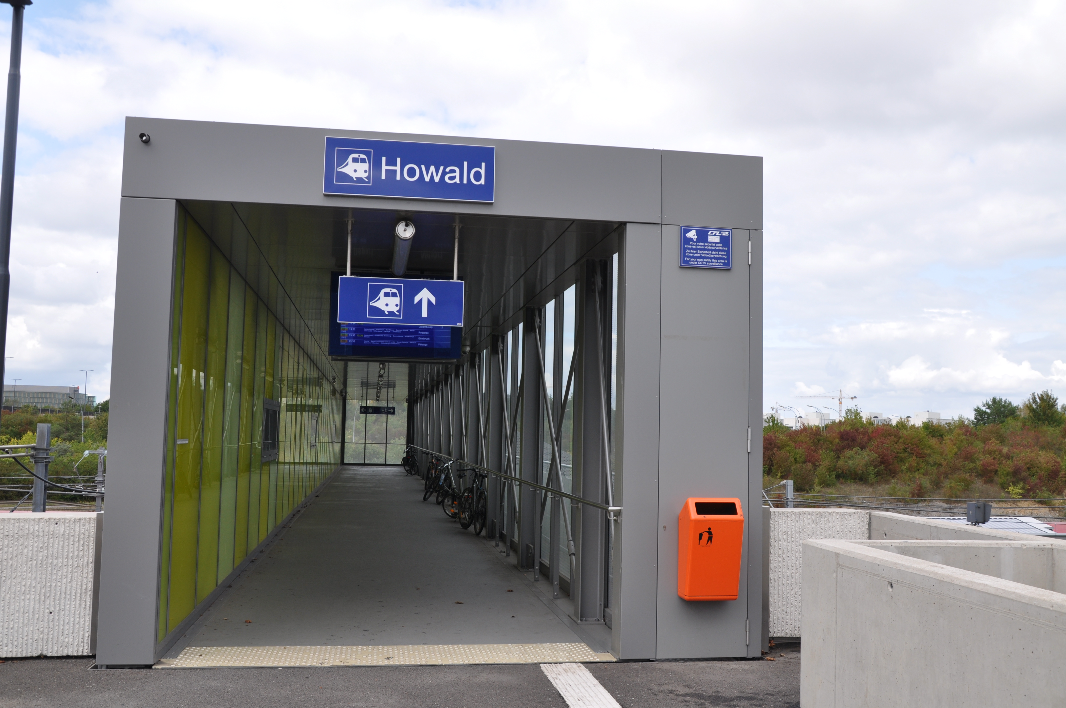 Train station of Howald