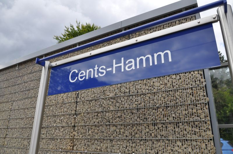 Train station of Cents Hamm